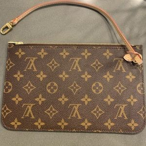 Brand New Never Used LV Pouch